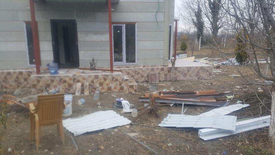 Kirazlı köyünde pirefabrik ev Hazır 1